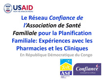 Family Planning Presentation in Kinshasa DRC